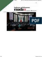 03-02-17 Divide a Legisladores Telefonema Peña-Trump - La Jornada