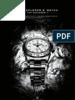 Rolex Explorer II E-Brochures
