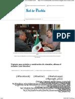 08-02-17 Urgente Una Revisión y Sustitución de Cónsules, Afirma El Senador Luis Sánchez