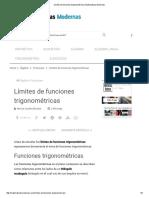 Límites de Funciones Trigonométricas _ Matematicas Modernas