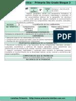 Plan 5to Grado - Bloque 3 Geografía (2016-2017)