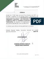 Cambio de Domicilio Asamblea Municipal Tampico Tamaulipas