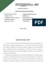 Fundamento Socio-politico Venezuela I-2012