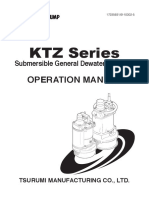 Tsurumi Operationmanual_KTZ - Sumergible Pump