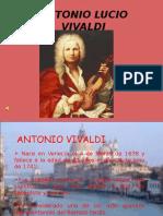Diapositivas sobre Antonio Vivaldi
