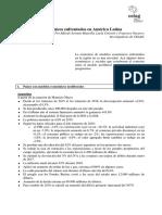 Dos Modelos Económicos Enfrentados en Ameìrica Latina.