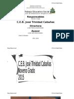 Informe de Tes Sabada Redonda - 2016