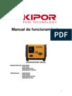 Manual Kde7000
