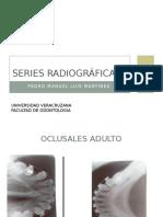 Series Radiográficas. Pedro Manuel