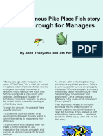 The World Famous Pike Place Fish Story