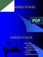 Signos Vitales y Somatometría