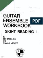 Berklee Guitar Ensemble Workbook Sight Reading Vol1 Don Sterling William Leavitt