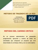 Metodo Del Trazado de Una Red