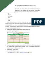 Cara Membuat Laporan Keuangan Sederhana Dengan Excel Sheet