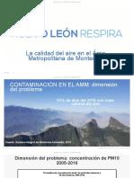 Nuevo León Respira - La calidad del aire en el Área Metropolitana de Monterrey  (febrero, 2017)
