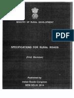 Spe for Rural Roads
