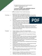 Kebijakan Pelayanan Pasien Risiko Tinggi - (Revisi)