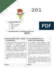 programación 2017  3° y 4° TAMBILLO