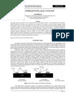 B5 - NOx Storage in Pt-Al2O3 Catalyst