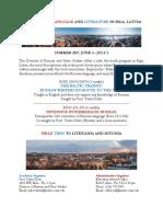 Riga Program Flyer