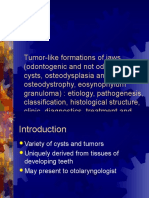 2. Tumor-like Formations of Jaws