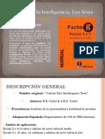 Factor g