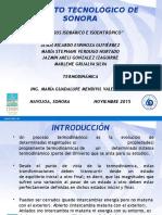 Procesos Isobárico e Isoentrópico