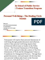 The Healing Circle Module 3-18