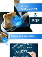 5 Metode Audit Mutu SPMI