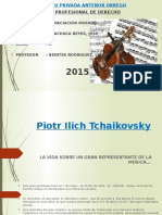 Diapositivas Piotr Ilich Tchaikovsky Vida, Anecdotas y Obras Resaltantes