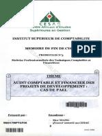 Audit comptable et financier des projets de développement