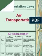 3. Air Transportation