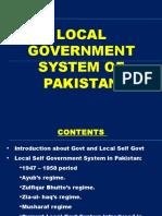 Presentationonlocalgovernmentinpakistan Copy 160412094141