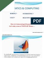 Matlab Notes 1
