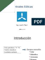 Presentation Centrales Eólicas