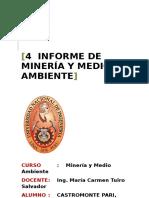 4to Informe de Minería y Medio Ambiente