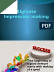 Alginate Impression making