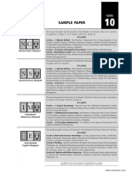 SOF Sample Paper Class 10
