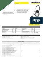 Aspiratore solidi-liquidi Karcher NT 27-1 ME
