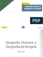 Geografia Humana Geografia de Hungria