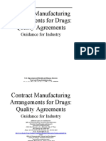 Contract Manufacturing Arrangements for Drugs_ Quality Agreements Guidance for Industry - UCM353925