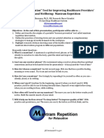 Mantram Repetition for Employees