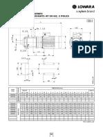 TECHNICAL Lowara EHM-td-En 50 Hz Part50