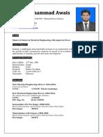 Muhammad Awais CV
