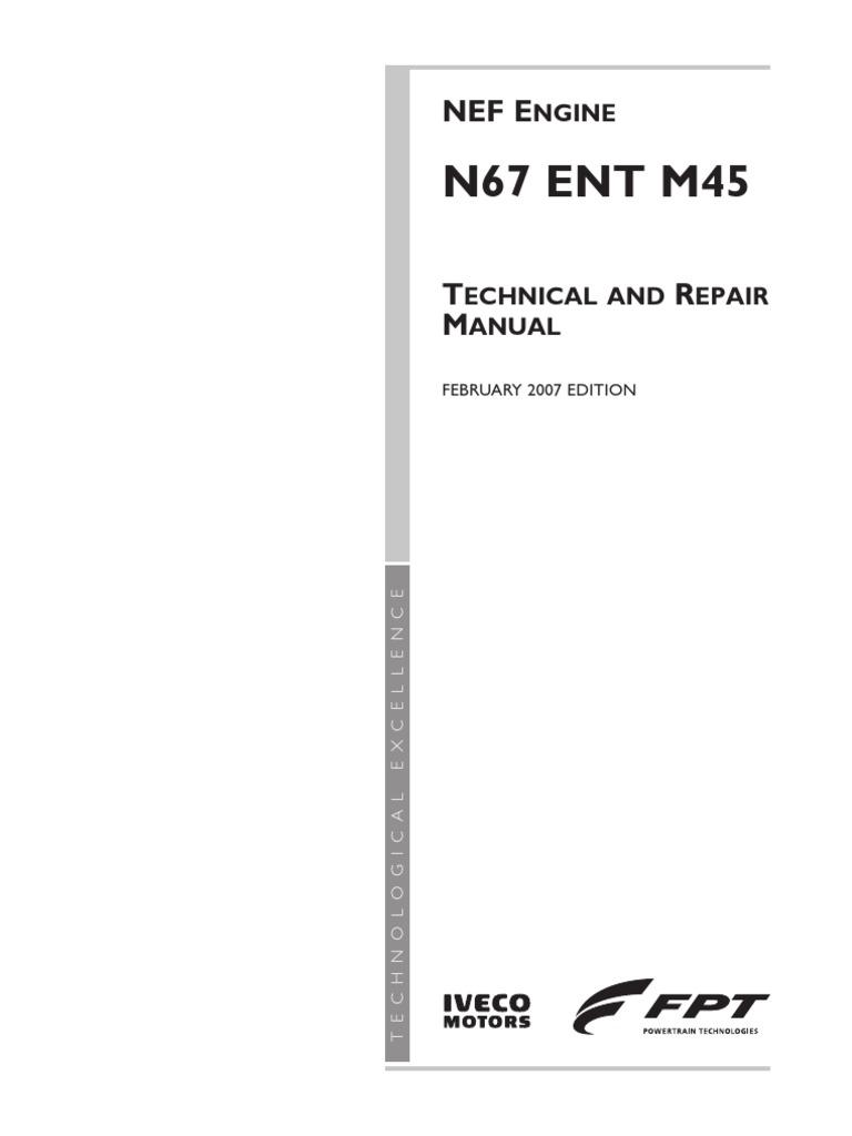 Nef N67 Ent M45 450 Turbocharger Internal Combustion Engine 3ld1 Isuzu Wiring Diagram