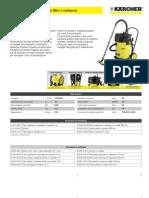 Aspiratore solidi-liquidi Karcher NT 70-2 Tc
