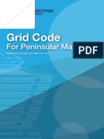 Grid Code for FgPeninsular Malaysia