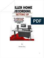 The absolute guide to everything you need for your home recording studio