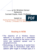 Survey on Routing Protocols for WSN