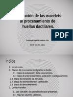 Apliacion de las wavelets al procesamiento digital